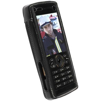 Krusell pouzdro Classic - Sony Ericsson W902
