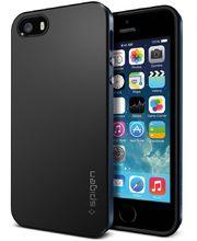 Spigen pouzdro Neo Hybrid metal slate pro Apple 5/5S, kovově-černá