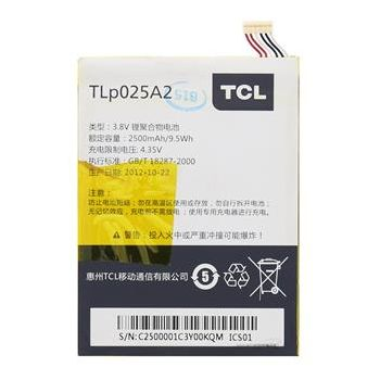 Alcatel originální baterie TLP025A2 Alcatel Y900/Y710/8000D/8008D, 2500 mAh Li-pol, eko-balení