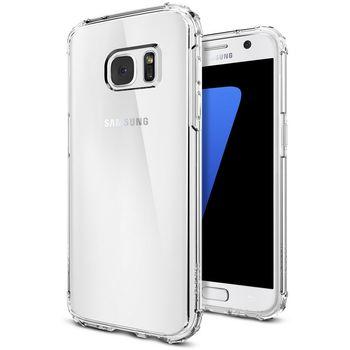 Spigen pouzdro Crystal Shell pro Galaxy S7, průhledné