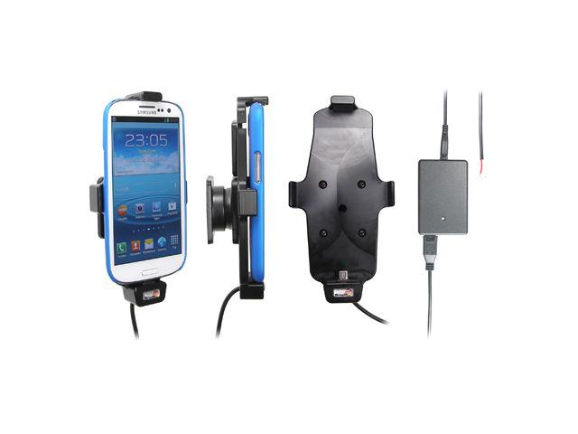 obsah balení Brodit držák do auta pro Samsung Galaxy S4 a S III i9300 v pouzdru se skrytým nabíjením + pouzdro Otterbox Commuter