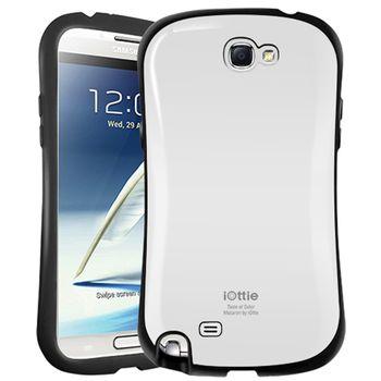 iOttie Macaron - ochranné pouzdro pro Samsung Galaxy Note II bílé