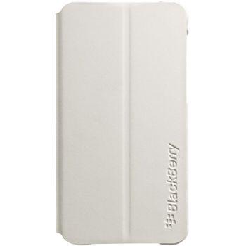 BlackBerry Hardshell Flip Leather kryt pro BlackBerry Z10, bílá