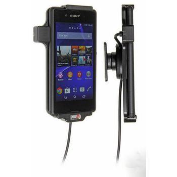 Brodit držák do auta na Sony Xperia E3 bez pouzdra, s nabíjením z cig. zapalovače/USB