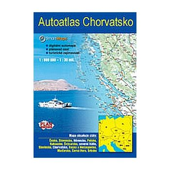 SmartMaps Locator: Autoatlas Chorvatsko 1:100.000 (Windows Mobile/Win CE/Symbian/Android)