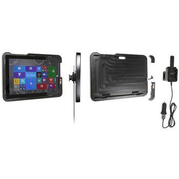 Brodit odolný držák do auta na Microsoft Surface 3 bez pouzdra, s nabíjením z CL/USB