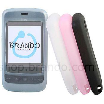 Silikonové pouzdro - HTC Touch 2 (černá)