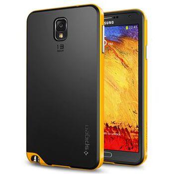 Spigen pouzdro Neo Hybrid Reventon pro Galaxy NOTE 3, žluto - černá