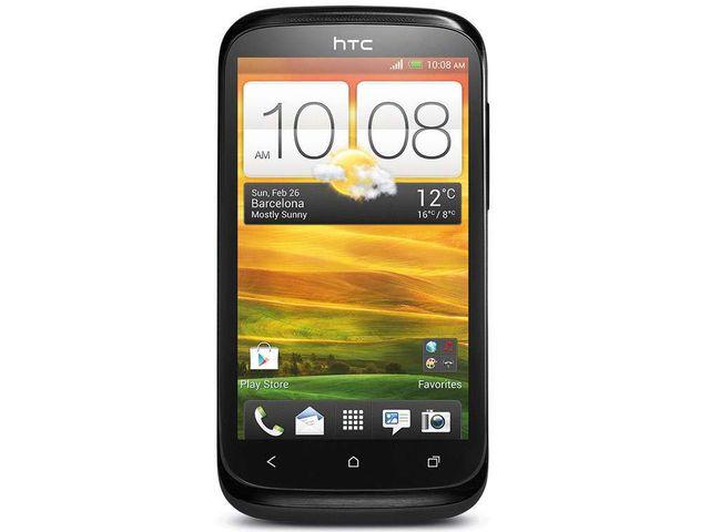 obsah balení HTC Desire X + SanDisk značková paměťová karta 16GB