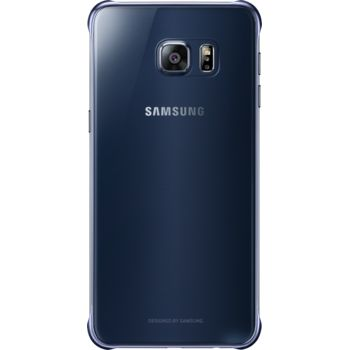 Samsung kryt Clear Cover EF-QG928CB pro Galaxy S6 edge+ (G928), tmavě modrý