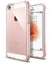 Spigen pouzdro Crystal Shell pro iPhone SE/5s/5, červená