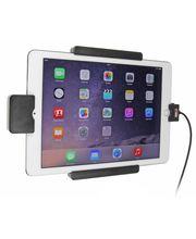 Brodit držák do auta na Apple iPad Pro 9.7 bez pouzdra, s nabíjením z cig. zapalovače, s pružinou