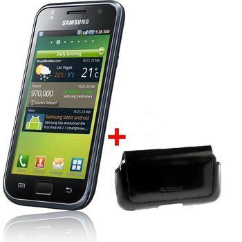 Samsung Galaxy S i9000 + pouzdro Krusell Hector černé
