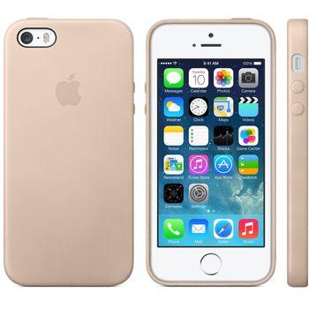 Apple originální kryt pro iPhone 5S, světle hnědá