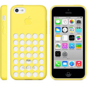 Apple originální kryt pro iPhone 5C, žlutá