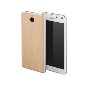 Mozo zadní kryt pro Lumia 650, imitace světlého dřeva