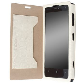 Krusell pouzdro FlipCover Malmo - Nokia Lumia 1020, bílá