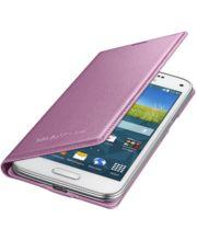 Samsung flipové pouzdro EF-FG800BP pro Galaxy S5 mini, růžové