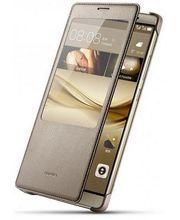 Huawei flipové pouzdro Smart Cover pro Mate 8, hnědé