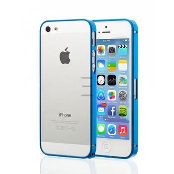 Esperia hliníkový rámeček pro Apple iPhone 5/5S, modrý