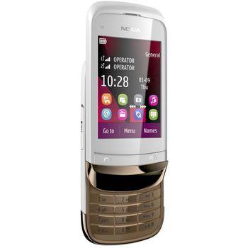 Nokia C2-03 Golden White