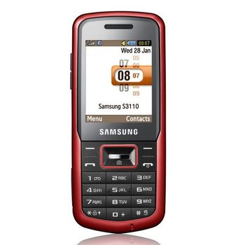 Samsung S3110 Red