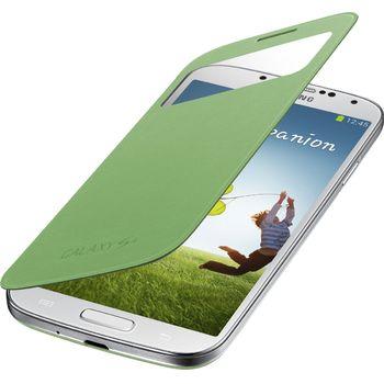 Samsung flipové pouzdro S-view EF-CI950BG pro Galaxy S4 (i9505), zelené