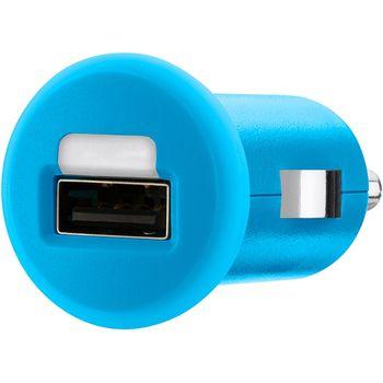 Belkin USB autonabíječka 1A, modrá (F8J018cwBLU)