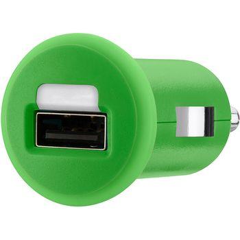 Belkin USB autonabíječka 1A, zelená (F8J018cwGRN)