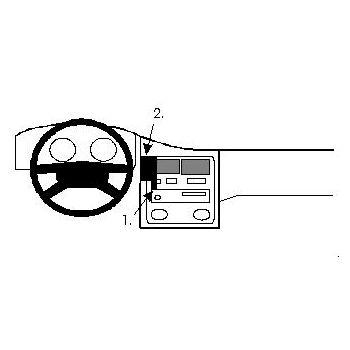 Brodit ProClip montážní konzole pro Toyota Carina E 92-00, na střed