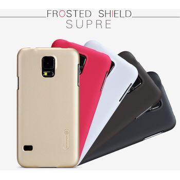Nillkin super frosted zadní kryt Gold pro Samsung G900 Galaxy S5