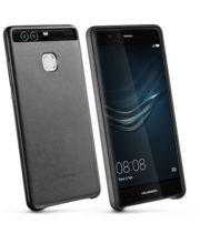 Huawei ochranný kožený kryt pro P9, černý