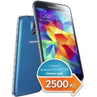 Získejte zpět 2500Kč při nákupu Samsung Galaxy S5