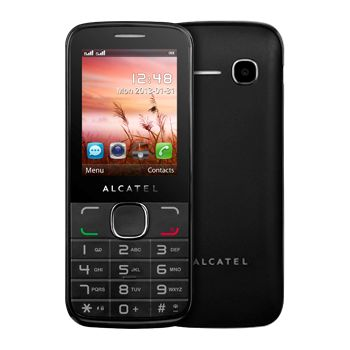 ALCATEL ONE TOUCH 2040D Dual SIM, černá