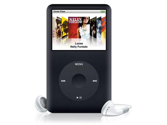 obsah balení Apple iPod classic 160GB Black + reproduktor přenosný Soundtraveller K3000ST