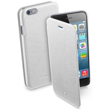 CellularLine flipové pouzdro Book Essential pro iPhone 6 4.7, bílé