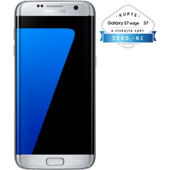 Samsung Galaxy S7 G935 Edge 32GB, stříbrná