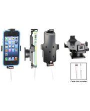 Brodit držák do auta na Apple iPhone 5/5S/5C/SE v pouzdru, s pružinou, s průchodkou pro Lightning