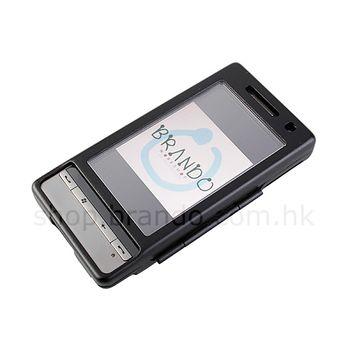 Pouzdro hliníkové odolné pro HTC Touch Diamond 2 (černá)
