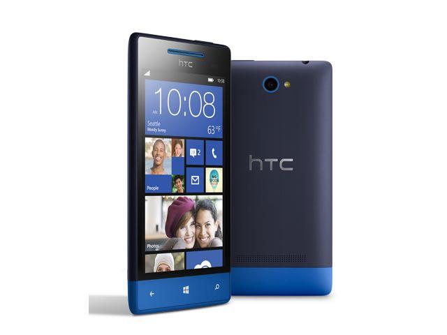 obsah balení Windows Phone 8S by HTC modrá