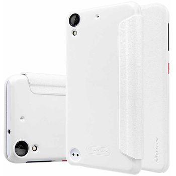 Nillkin flipové pouzdro Sparkle S-View pro HTC Desire 530, Desire 630, bílé