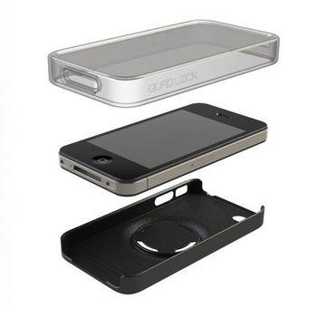 Quad Lock Poncho pro iPhone 4/4S - obal odolný vůči vodě - pro použití s pouzdrem Quad Lock