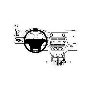 Brodit ProClip montážní konzole pro Honda Accord Crosstour 10-12, na středový tunel