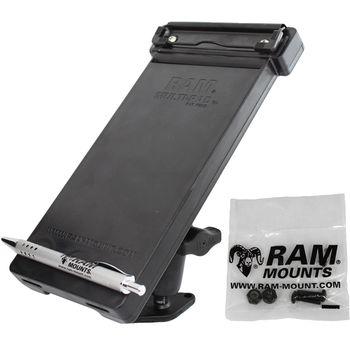 RAM Mounts držák na zápisník Multi-pad organizer s lichoběžníkovým adaptérem pro pevnou montáž, sestava RAM-B-102-MP1U