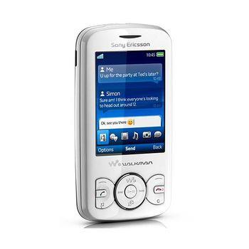 Sony Ericsson W100 Spiro Contrast Black