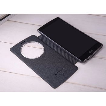 Nillkin Sparkle S-View Pouzdro pro LG G4 Stylus, černé