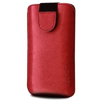Redpoint pouzdro Soft Slim se zavíráním, velikost L, červená