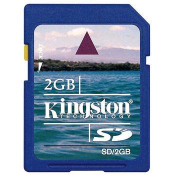 Kingston SD 2GB paměťová karta (SecureDigital Card)