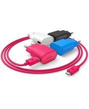 Nokia úsporná cestovní síťová nabíječka AC-50E - microUSB, modrá
