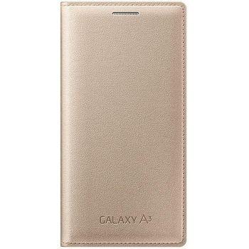 Samsung flipové pouzdro EF-FA300BF pro Galaxy A3, zlaté